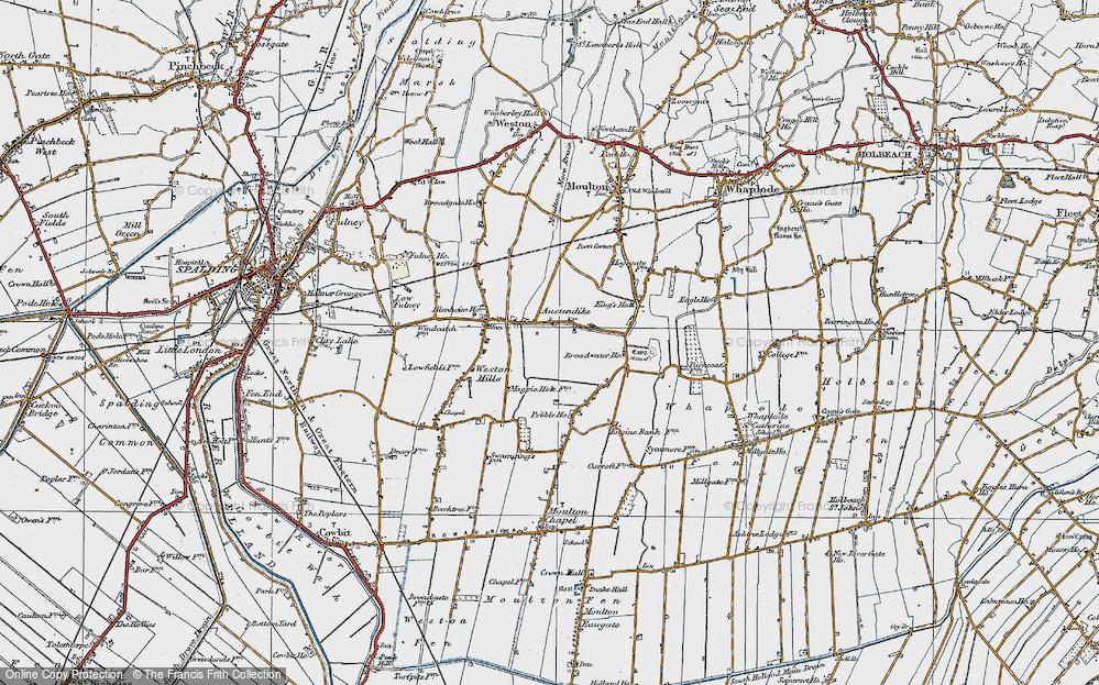 Austendike, 1922