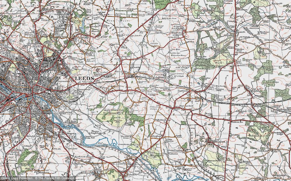 Austhorpe, 1925