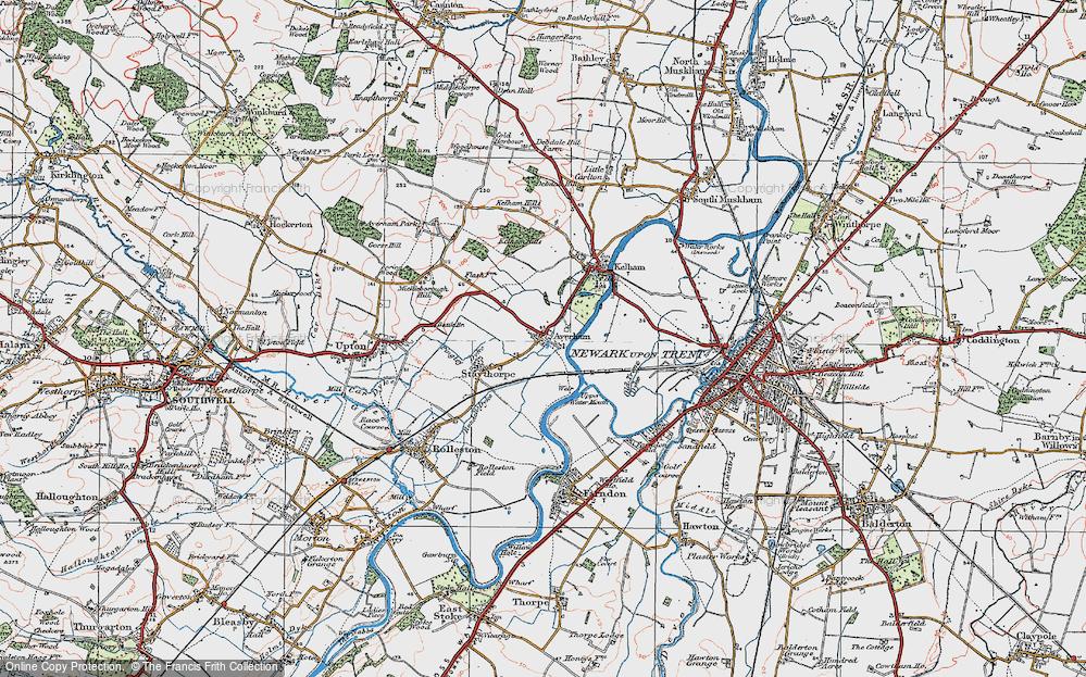 Averham, 1923