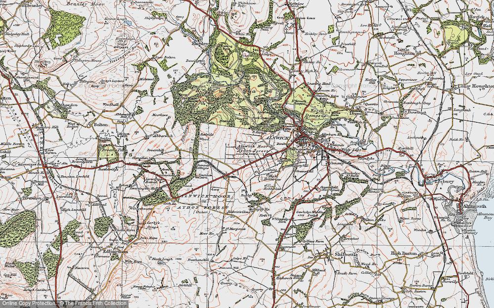 Aydon Forest, 1925