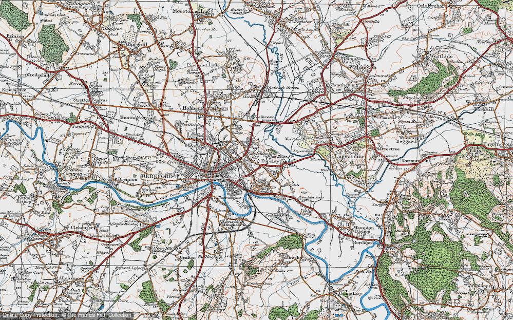 Aylestone Hill, 1920