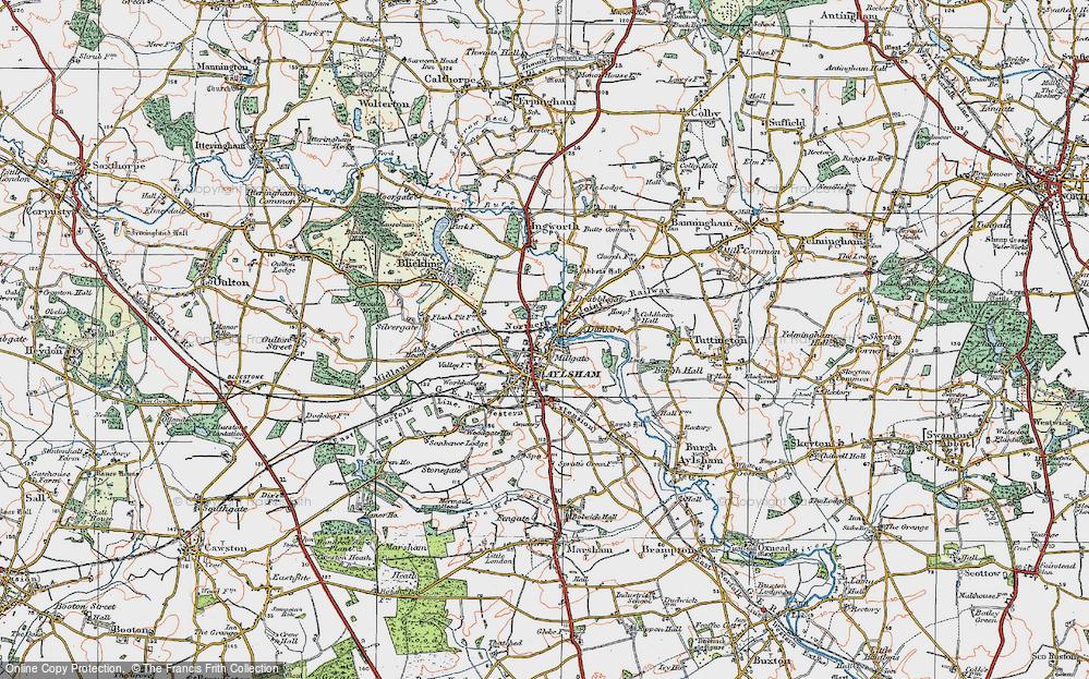 Aylsham, 1922