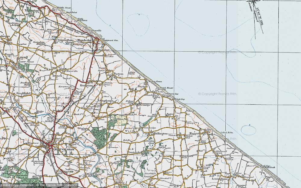 Bacton, 1922