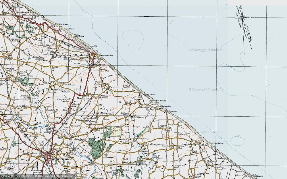 Bacton Green, 1922