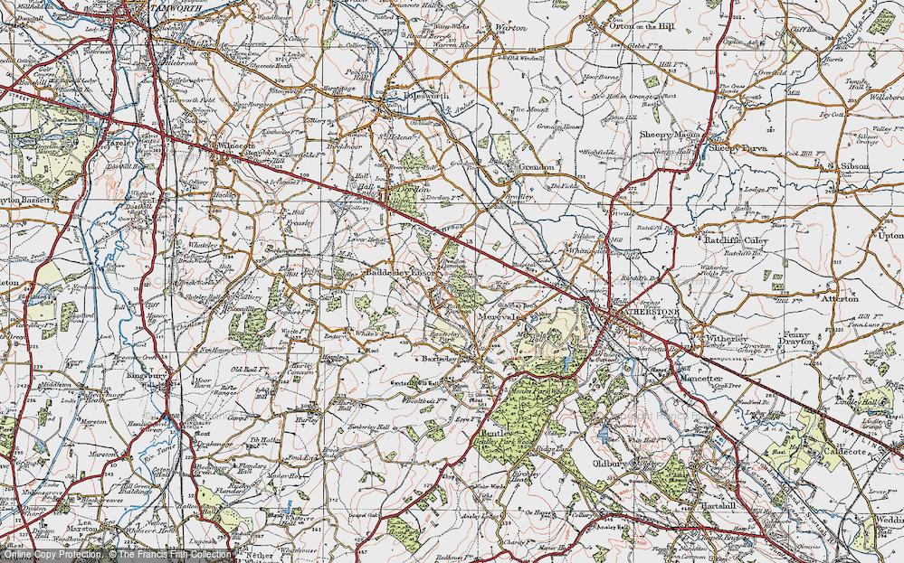 Baddesley Ensor, 1921