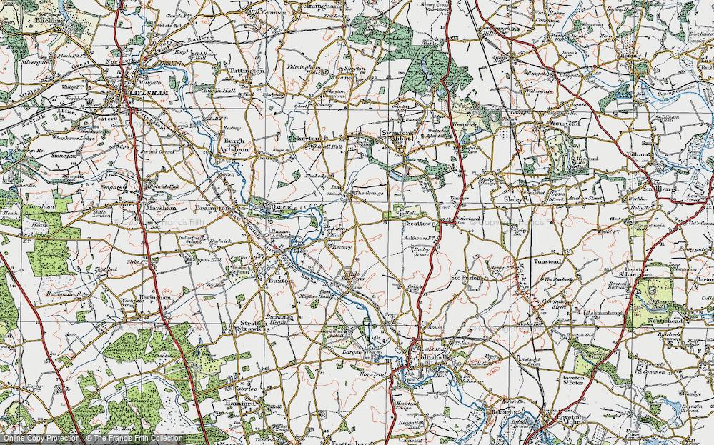 Badersfield, 1922