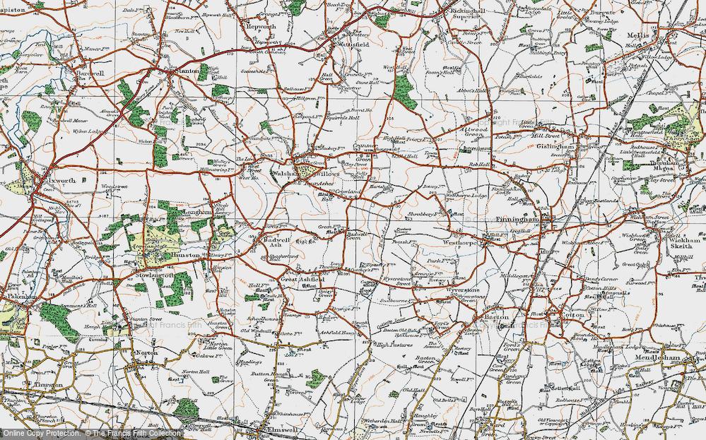 Badwell Green, 1920