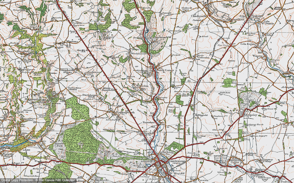Bagendon, 1919