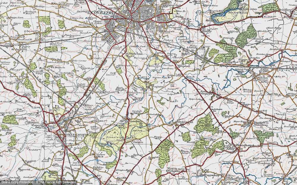 Baginton, 1920