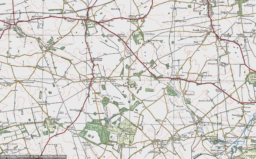 Bagthorpe, 1921