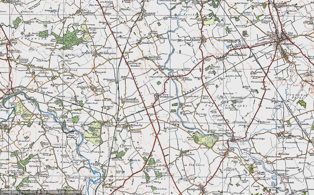 Baldersby, 1925