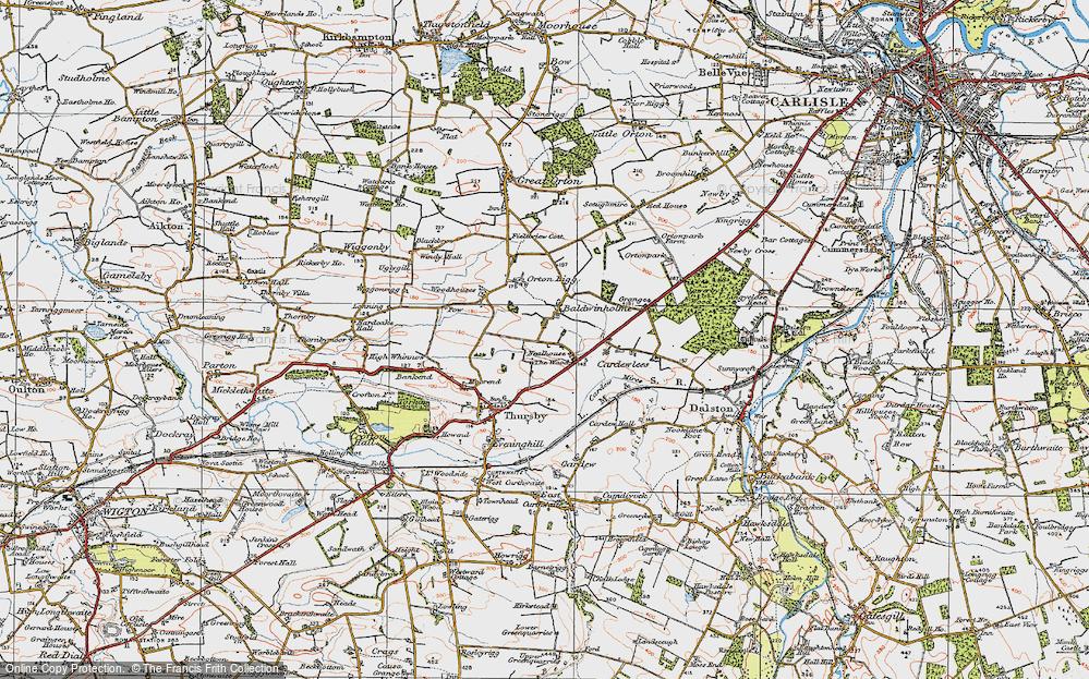 Baldwinholme, 1925