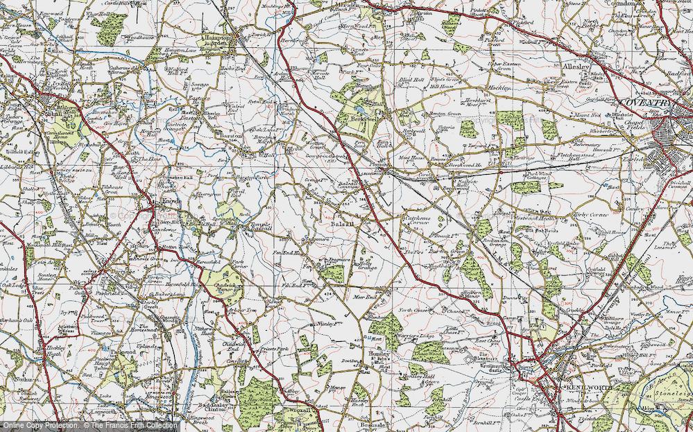 Balsall, 1921