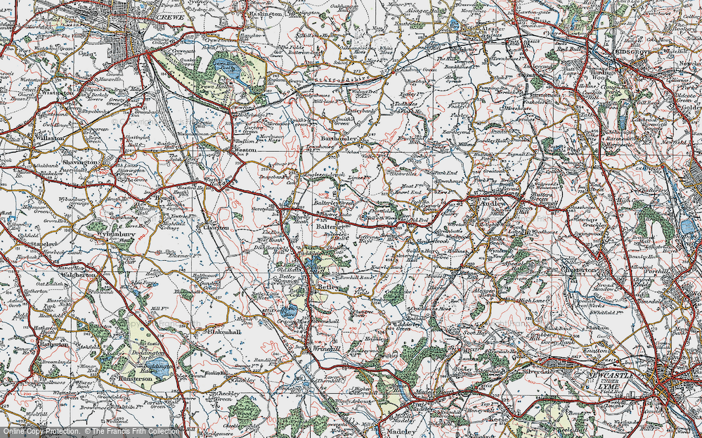 Balterley, 1921
