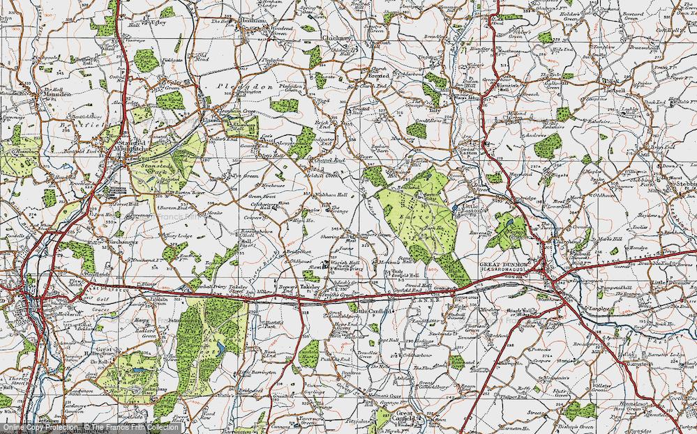 Bamber's Green, 1919