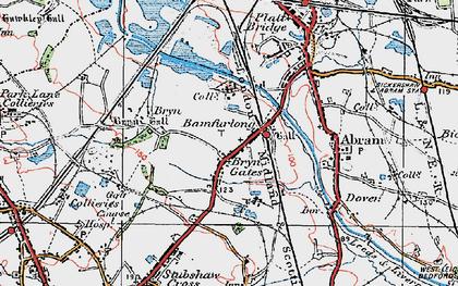 Old map of Bamfurlong in 1924