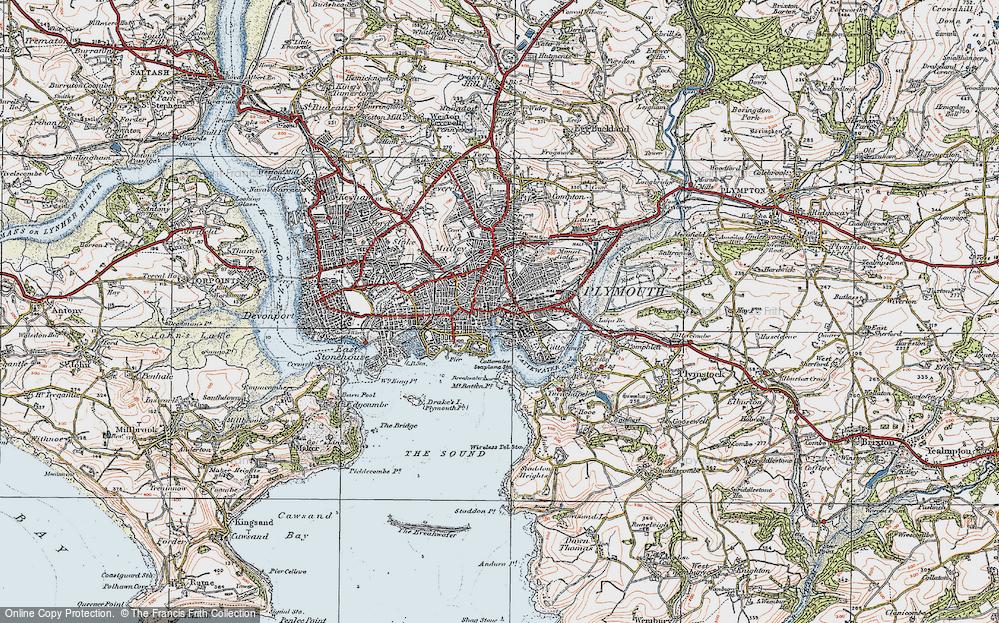 Barbican, 1919