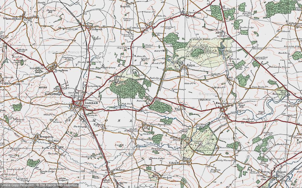 Barnsdale, 1921