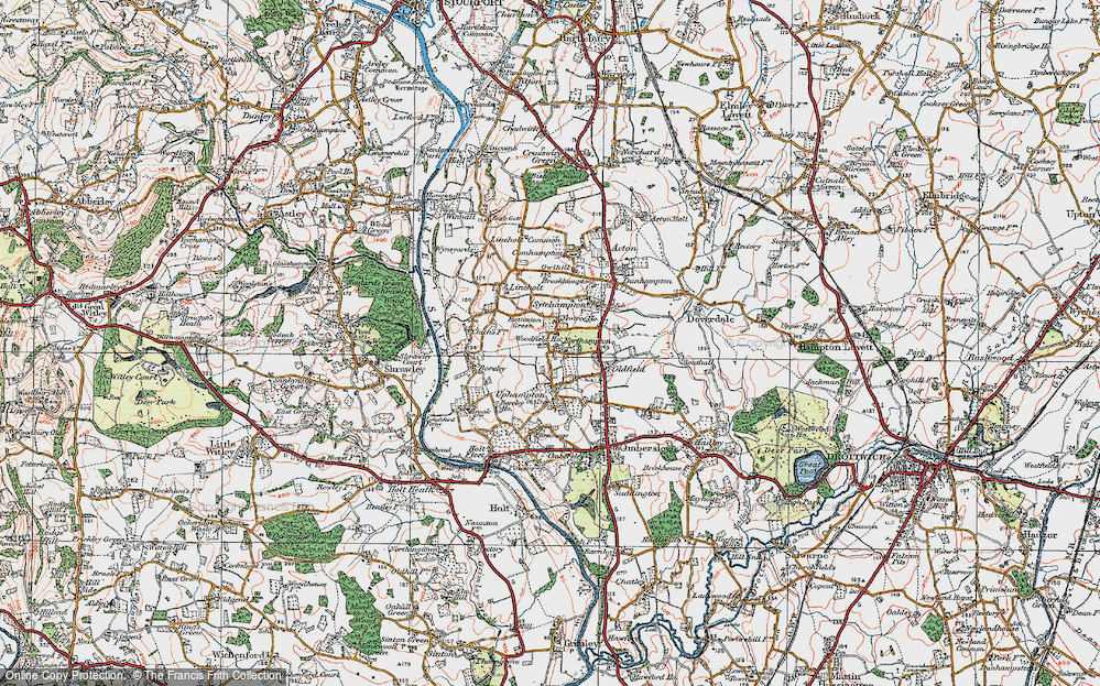 Old Maps of Northampton Francis Frith