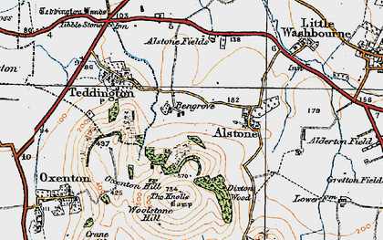 Old map of Bengrove in 1919