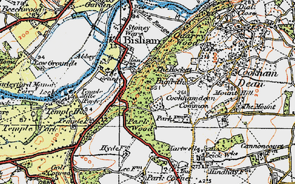 Old map of Bigfrith in 1919