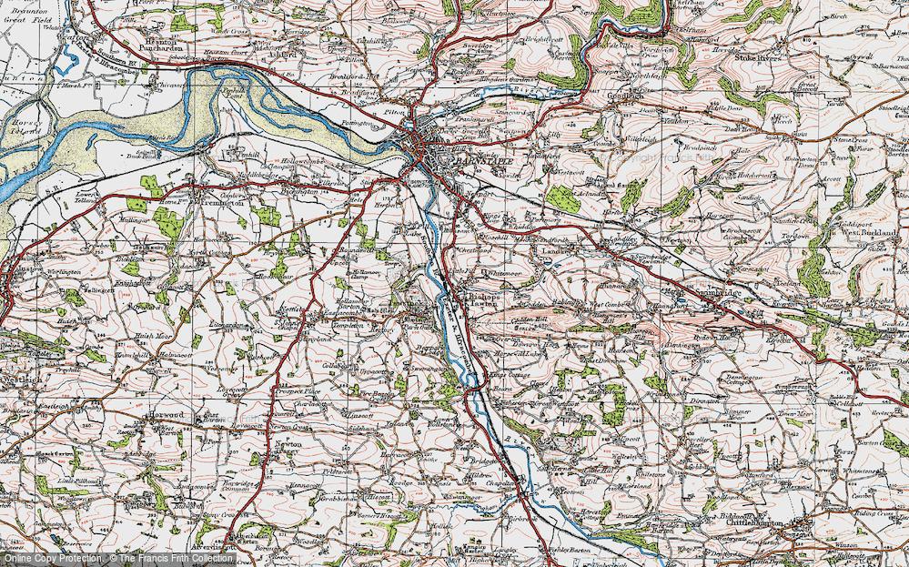 Bishop's Tawton, 1919