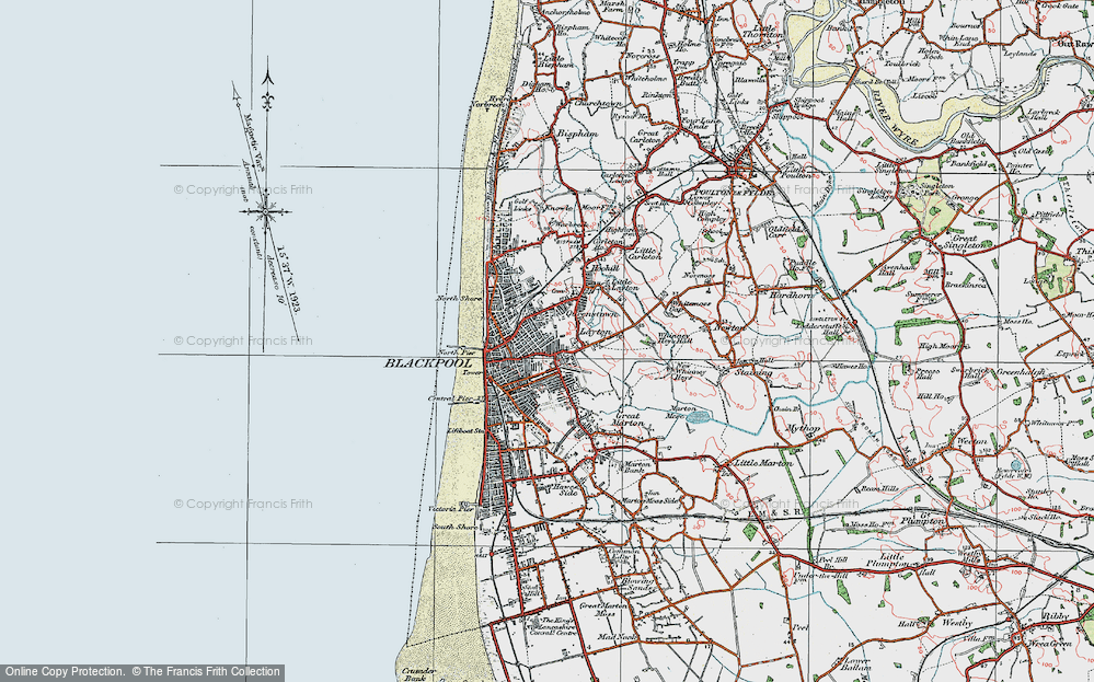 Old Maps of Blackpool Francis Frith