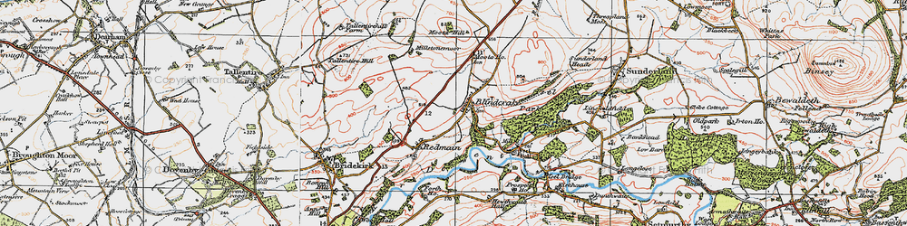 Old map of Williamsgate in 1925