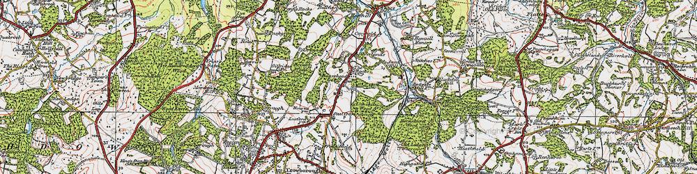 Old map of Aldwick Grange in 1920