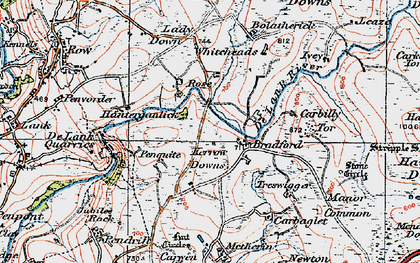 Old map of Whiteheads in 1919