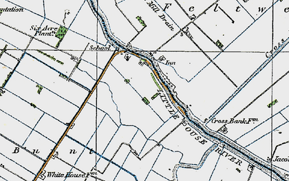 Old map of Brandon Bank in 1920