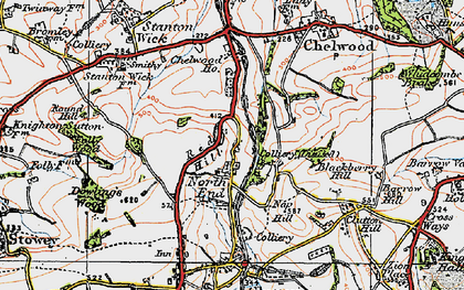 Old map of Breach in 1919