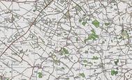 Map of Brinkley, 1920