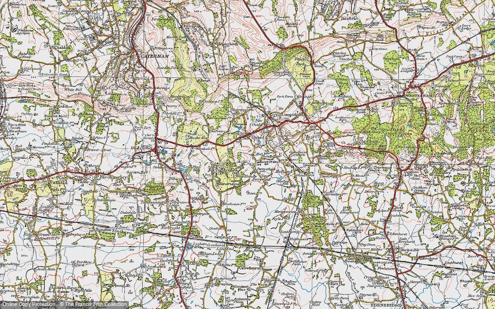 Broadham Green, 1920
