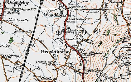 Old map of Wynstones Ho in 1919