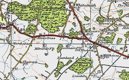 Broomham photos, maps, books, memories - Francis Frith
