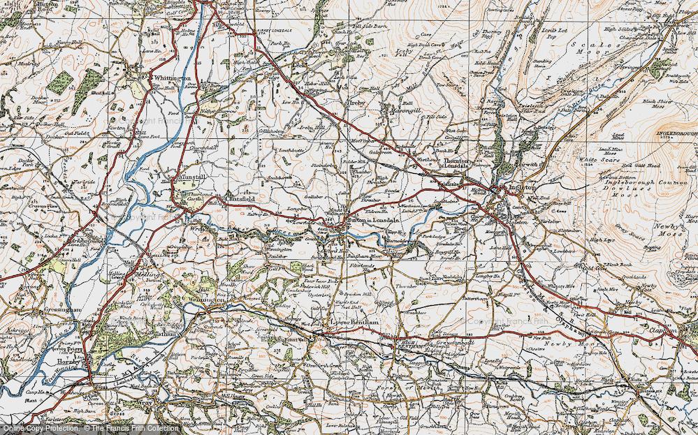 Burton in Lonsdale, 1924