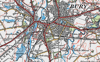Bury photos maps books memories Francis Frith