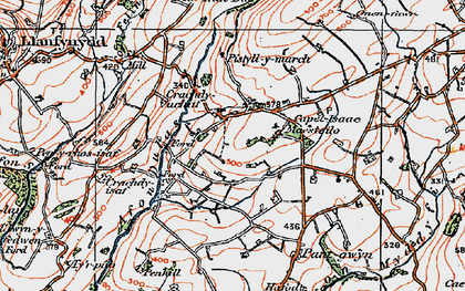 Old map of Tirpab in 1923