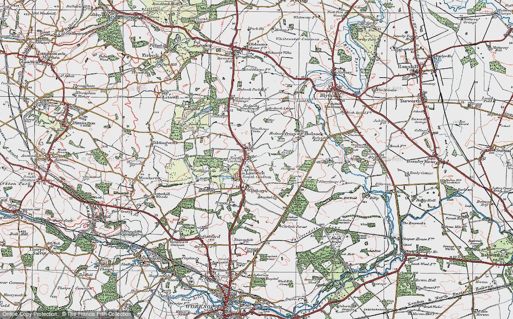 Carlton in Lindrick, 1923