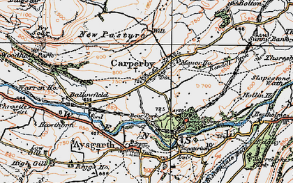Old map of Ballowfield in 1925