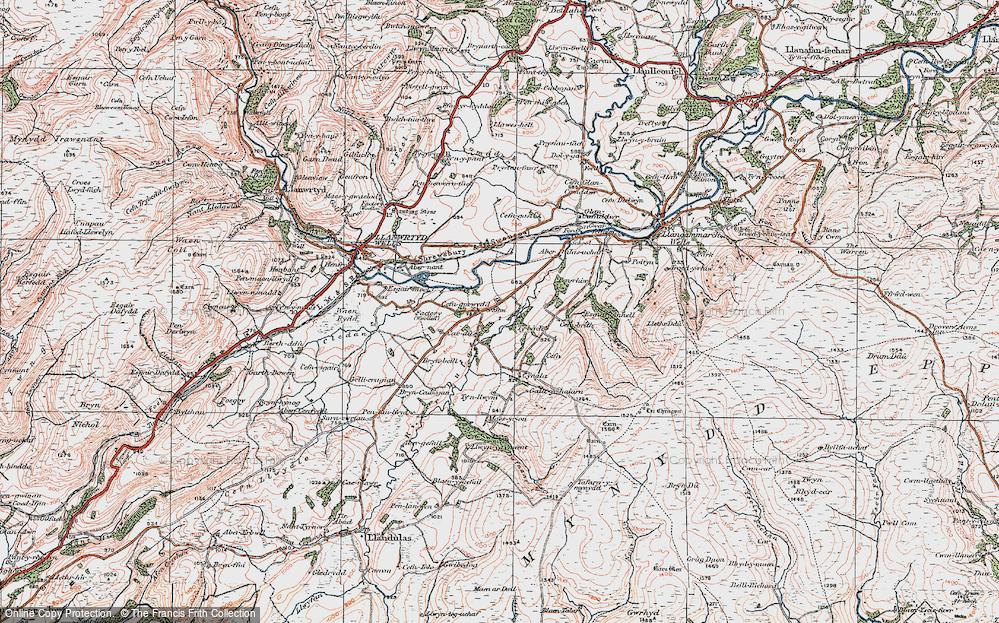 Cefn-gorwydd, 1923