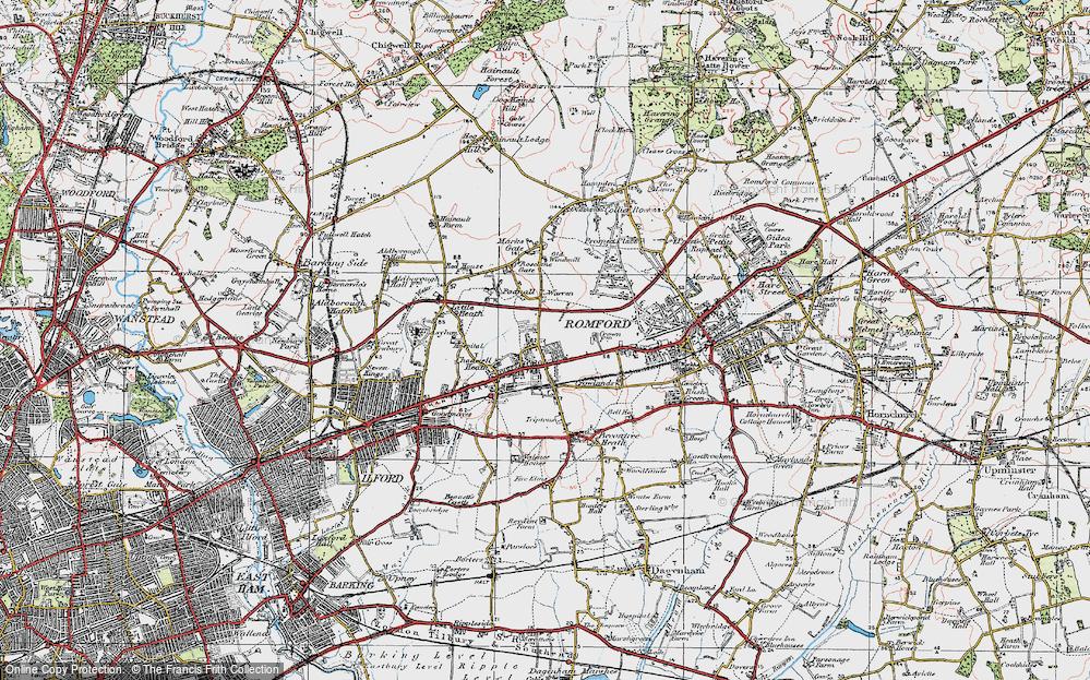 Chadwell Heath, 1920