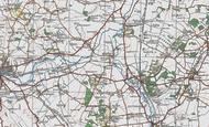 Map of Chalton, 1919