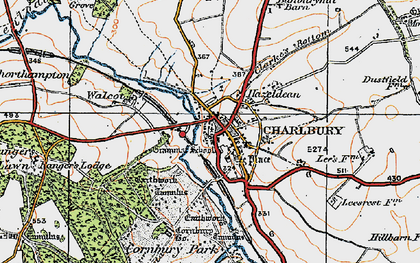 Old map of Lee's Rest in 1919