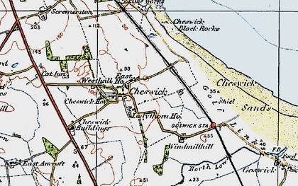 Old map of Windmill Hill in 1926