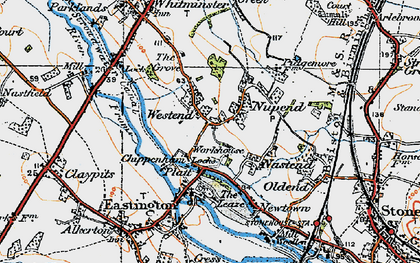 Old map of Chipmans Platt in 1919