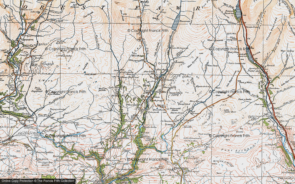 Clungwyn Falls, 1923