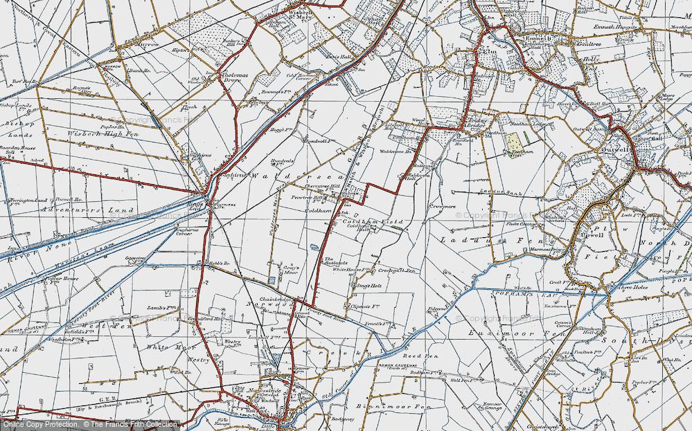 Coldham, 1922