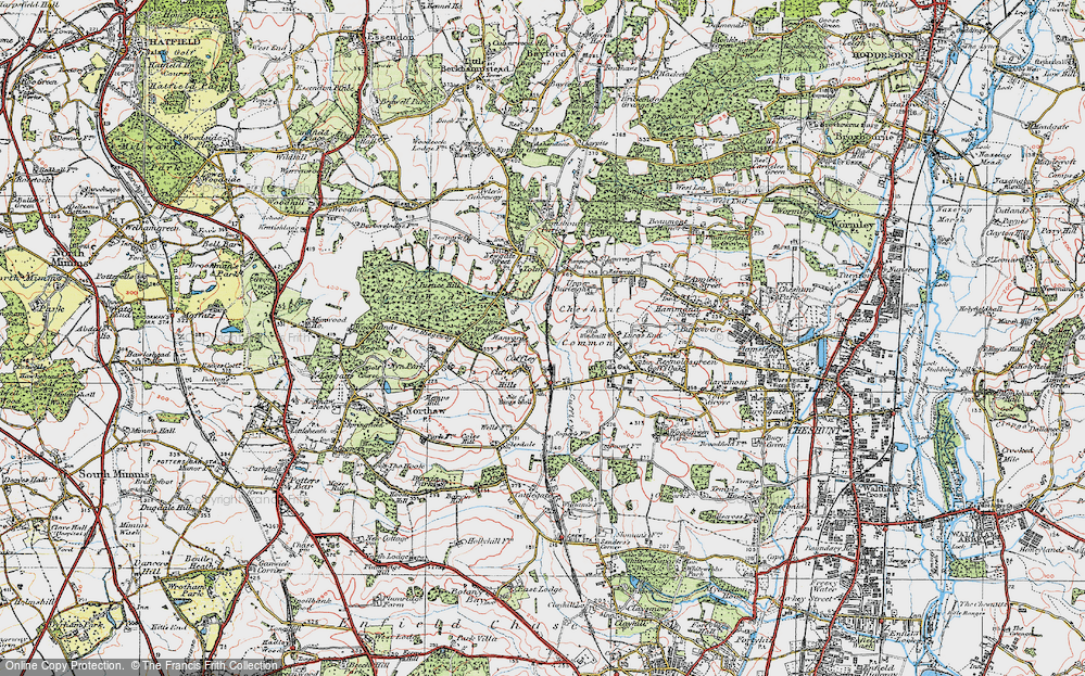 Old Maps of Cheshunt Common Francis Frith
